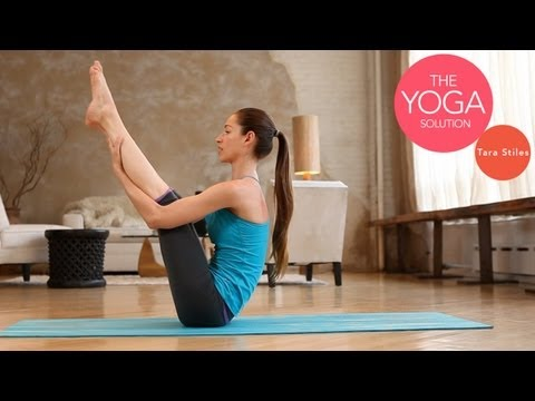 Core Strength | Beginner Yoga With Tara Stiles