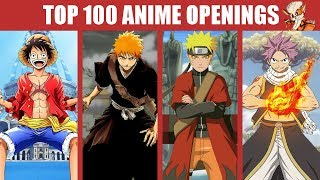 Mon TOP 100 Anime Openings (of all time)