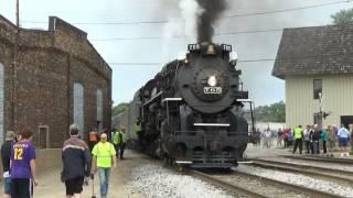 Nickle Plate Road #765 Steam Engine Visits Janesville