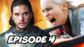 Game Of Thrones Season 8 Episode 4 TOP 10 WTF and Easter Eggs