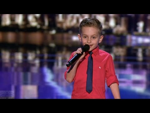 America's Got Talent 2016 Cutest Comedian 6 Y.O. Nathan Bockstahler Full Judge Cuts Clip S11E11