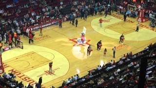 Entry to the game Houston Rockets X Charlotte Hornets