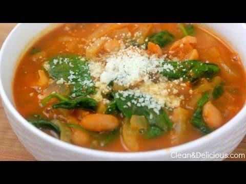Fennel, Tomato And White Bean Soup - YouTube