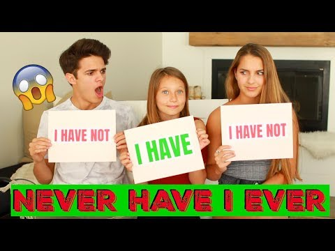 Download NEVER HAVE I EVER w/ Little Sister and Cousin! | Brent Rivera Mp4 baru