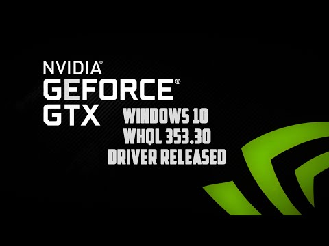 Windows 10 Nvidia 353.30 WHQL Driver Released Arkham Knight Ready