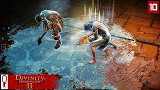 KNILES THE FLENSER - Divinity Original Sin 2 Gameplay Part 10 - [Coop Multiplayer]