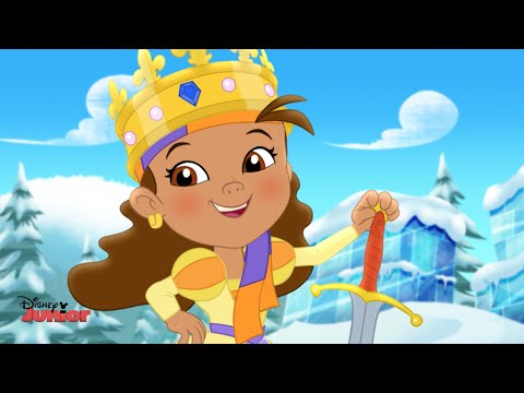 Jake and the Never Land Pirates - Queen Izzy-Bella Song - Official Disney Junior UK HD