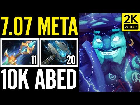 NEW META ITEM TEST ABED 10K MMR 7.07 META EPIC DOTA 2 GAMEPLAY