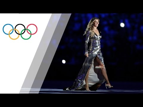 Gisele Bündchen´s catwalk at the Rio 2016 Olympics Opening Ceremony