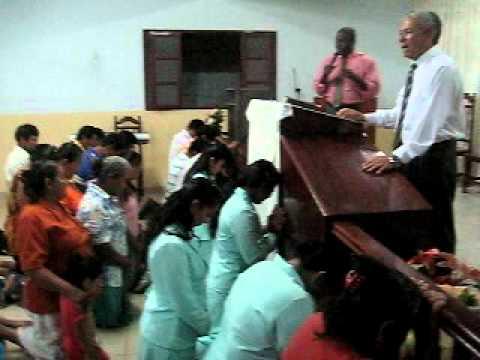 Missionário José Moreira - Momento da Oração - Bolívia