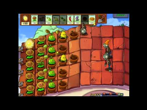 Plants vs Zombies Level 5-9 (PC)