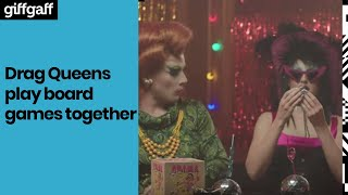 Drag Queens Play Big Potato Board Games | #giffgaffgaming