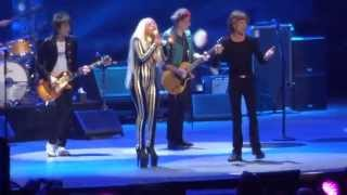 "Rolling Stones - with Lady Gaga ""Gimme Shelter"" @ Newark, N.J. 15/12/12"