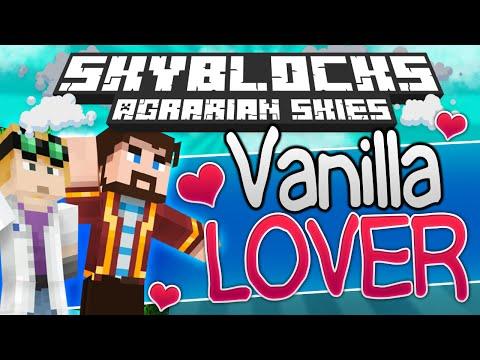 Minecraft - Hardcore Skyblock 95: VANILLA LOVER (Agrarian Skies Mod Pack)