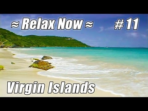 BEST CARIBBEAN BEACH - St. John US Virgin Islands Cinnamon Bay #11 Beaches Ocean Waves by Trunk Bay