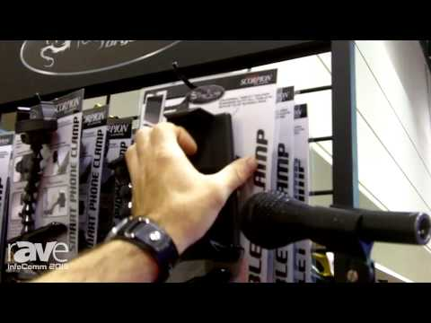 InfoComm 2015: Stage Ninja Shows Scorpion Mic Clamp and Tablet Holder