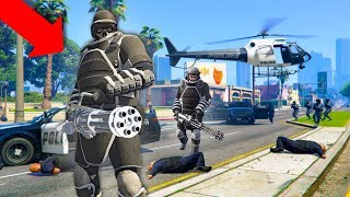 THESE GUYS TRIED TO TAKE OVER THE CITY! | GTA 5 THUG LIFE #220