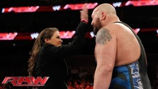 Stephanie McMahon fires Big Show: Raw, Oct. 7, 2013