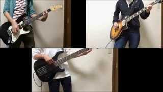RADWIMPS もしも 「みんな一緒に」バージョン ギター ベース 弾いてみた
