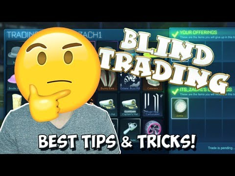 BLIND TRADING | Best Tips & Tricks To Win The BEST Rocket League Items In Blind Trading