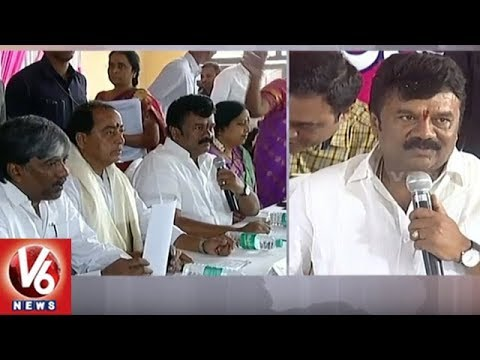 Ministers Talasani Srinivas, Indrakaran Reddy Holds Review On Bonalu Festival Arrangements | V6 News
