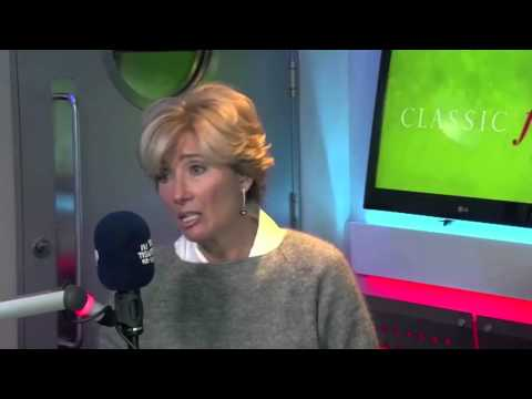 Emma Thompson about filming The Love Punch in France