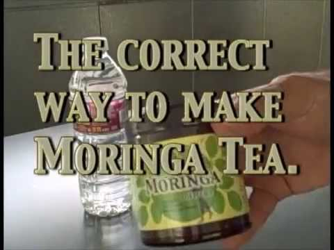 Moringa Tea Made Correctly
