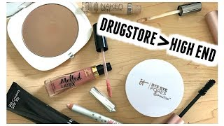 BEYOND DUPES | Drugstore Outperforming High End Makeup