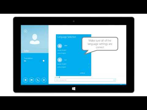 How To Set Up Skype Translator for Hard of Hearing Accessibility (English)