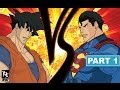 Goku Vs Superman Part 1