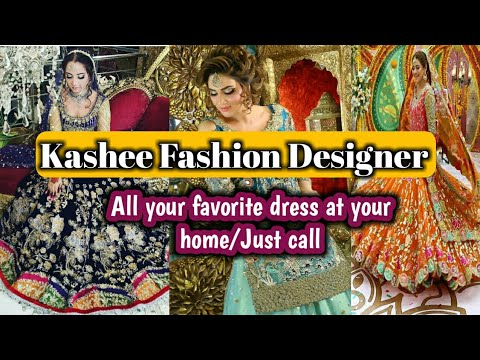 Kashee Fashion Designer (घर बैठे मंगवाये) Unlimited Lehanga collection.