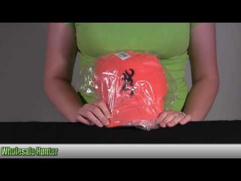 Browning  Safety Cap w/ 3D Buckmark Blaze 30840501 Unboxing