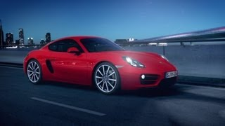 The new Cayman – watch your own model in motion
