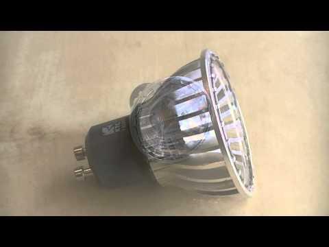 Kosnic HaloLED Retrofit 6 Watt GU10 LED Light Bulb