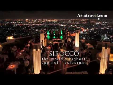 Tower Club at lebua Bangkok, Thailand – Corporate Video by Asiatravel.com