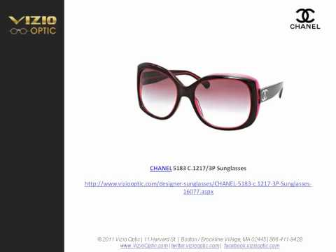 Thumbnail of video A large collection of Chanel sunglasses