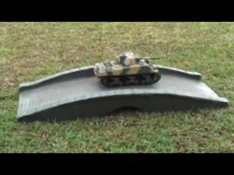 VS TANK 1/24 RC SHERMAN REVIEW