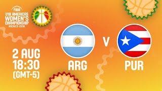 Аргентина до 18 (Ж) : Пуэрто-Рико до 18 (Ж)