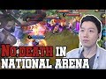 Wow Picked HANABI in National Arena and Build / Mobile Legends