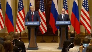 Full: Trump-Putin Press Conference from Helsinki, Finland  7/16/18