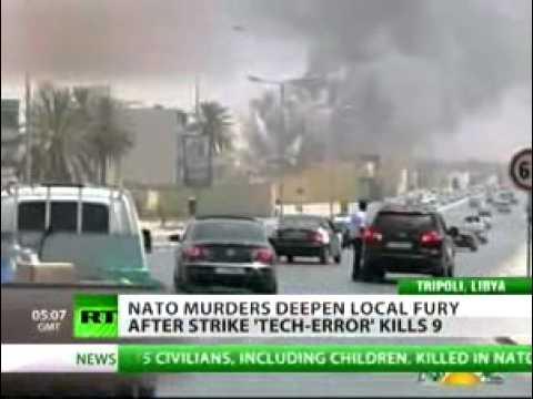 Tripoli claims 15 civilians killed in NATO airstrike — RT.
