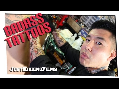 Badass Tattoos video