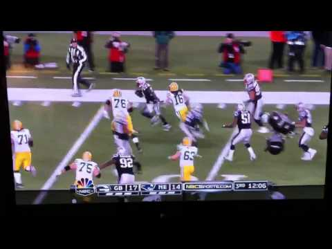 New England Patriots Kyle Arrington pick 6