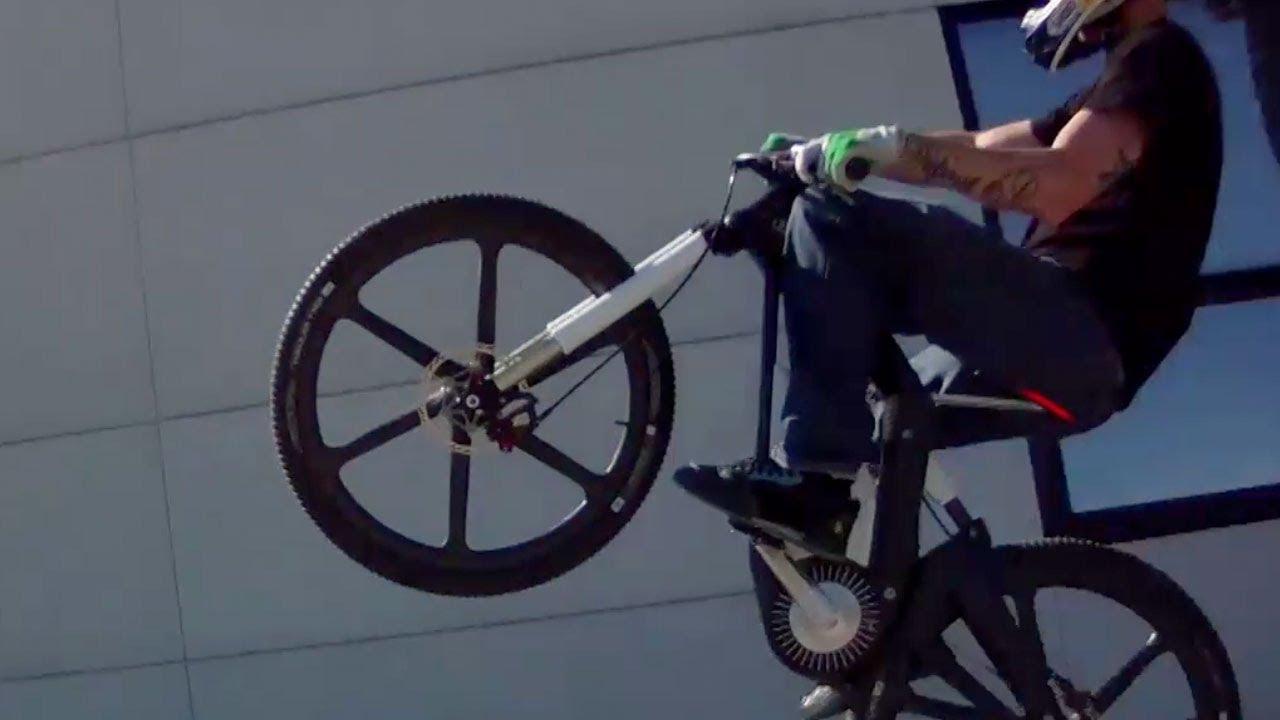 JULIEN DUPONT Rides Crazy E-Bike In Bavaria - YouTube