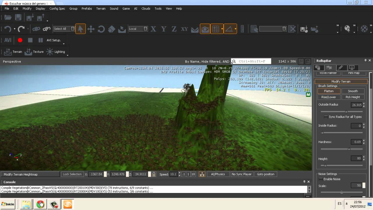 David programa para crear juegos primeros pasos youtube for Programa para crear muebles 3d