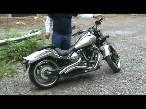 La Choppers Exhaust Yamaha Raider