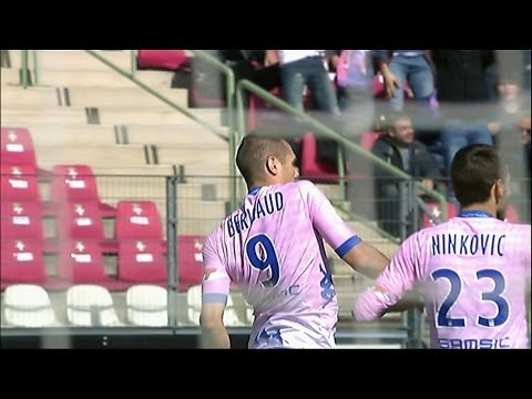 But Kvin BERIGAUD (24') - Evian TG FC - OGC Nice (4-0)