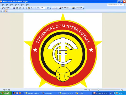TUTORIAL CorelDRAW X3 membuat Logo TCF.mp4