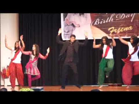Kerala Girls Dancing Programmes Conducted During The Cebration Of 18th Birthday Of Freena.flv video
