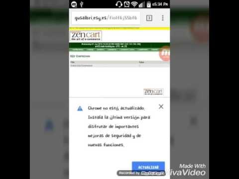 Zen cart [Configuracion] (gzip/Opciones de atributos/Configuracion de correo)